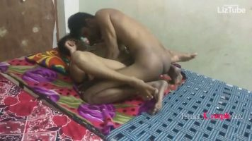 Telugu couple fucking in their bedroom in the morning