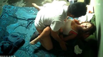 Hidden Camera Spying On Couple Banging (720p)