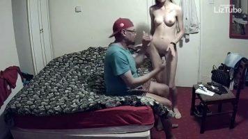 Prostitute on hidden camera (720p)